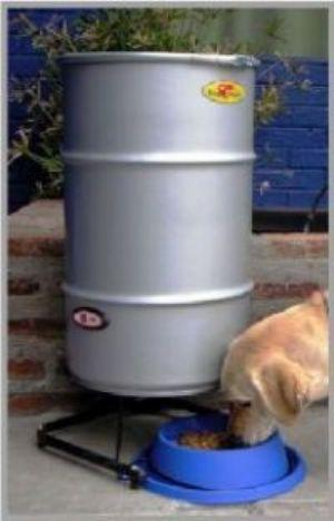Rukapet dosificador electr nico for Dispensador de comida para perros